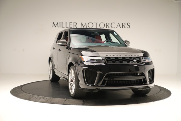 Used 2019 Land Rover Range Rover Sport SVR for sale Sold at Aston Martin of Greenwich in Greenwich CT 06830 11