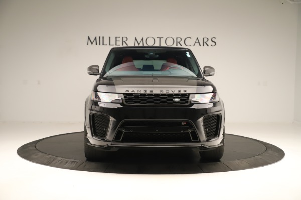 Used 2019 Land Rover Range Rover Sport SVR for sale Sold at Aston Martin of Greenwich in Greenwich CT 06830 12