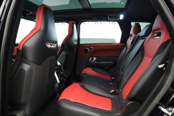 Used 2019 Land Rover Range Rover Sport SVR for sale Sold at Aston Martin of Greenwich in Greenwich CT 06830 17