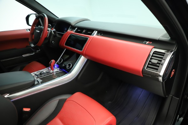 Used 2019 Land Rover Range Rover Sport SVR for sale Sold at Aston Martin of Greenwich in Greenwich CT 06830 18
