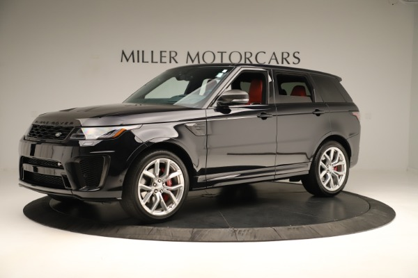 Used 2019 Land Rover Range Rover Sport SVR for sale Sold at Aston Martin of Greenwich in Greenwich CT 06830 2