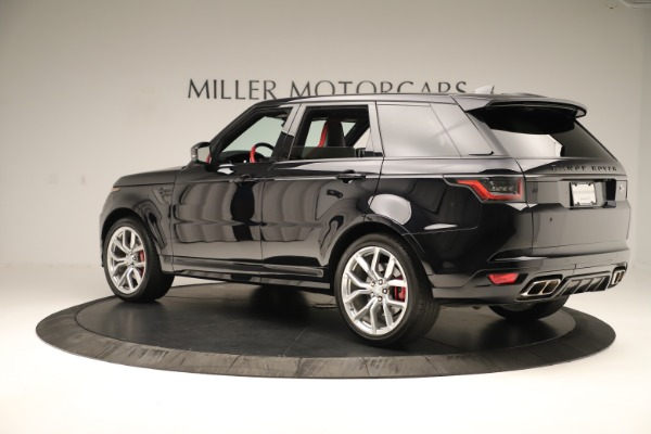 Used 2019 Land Rover Range Rover Sport SVR for sale Sold at Aston Martin of Greenwich in Greenwich CT 06830 4