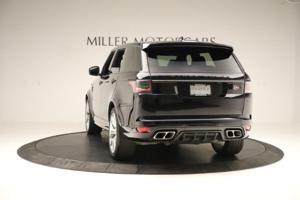 Used 2019 Land Rover Range Rover Sport SVR for sale Sold at Aston Martin of Greenwich in Greenwich CT 06830 5