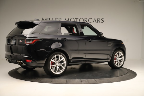 Used 2019 Land Rover Range Rover Sport SVR for sale Sold at Aston Martin of Greenwich in Greenwich CT 06830 8
