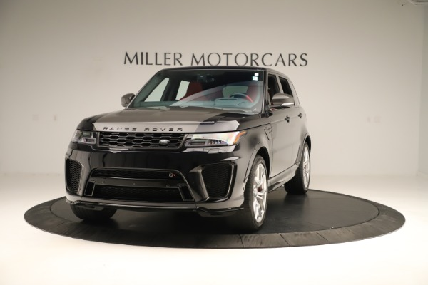 Used 2019 Land Rover Range Rover Sport SVR for sale Sold at Aston Martin of Greenwich in Greenwich CT 06830 1