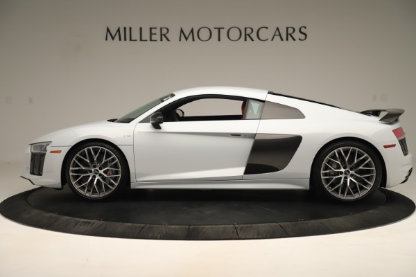 Used 2018 Audi R8 5.2 quattro V10 Plus for sale Sold at Aston Martin of Greenwich in Greenwich CT 06830 3