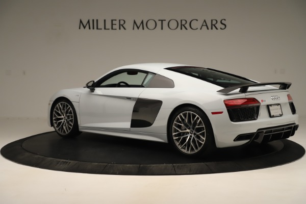 Used 2018 Audi R8 5.2 quattro V10 Plus for sale Sold at Aston Martin of Greenwich in Greenwich CT 06830 4