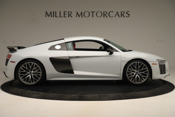 Used 2018 Audi R8 5.2 quattro V10 Plus for sale Sold at Aston Martin of Greenwich in Greenwich CT 06830 9