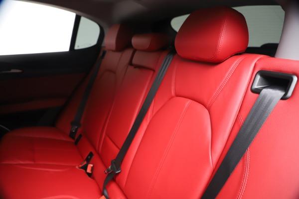 New 2019 Alfa Romeo Stelvio Ti Q4 for sale Sold at Aston Martin of Greenwich in Greenwich CT 06830 18