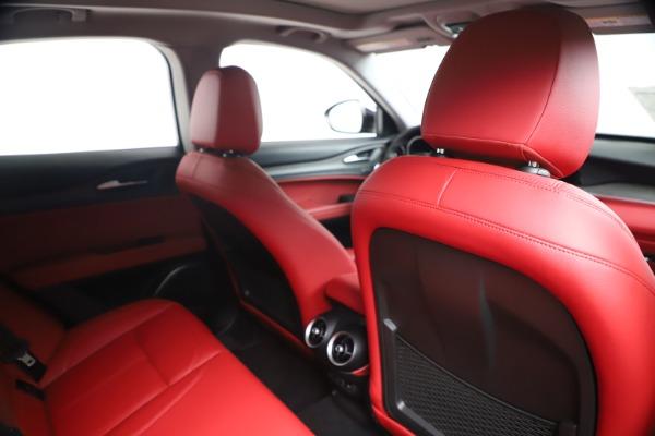 New 2019 Alfa Romeo Stelvio Ti Q4 for sale Sold at Aston Martin of Greenwich in Greenwich CT 06830 28