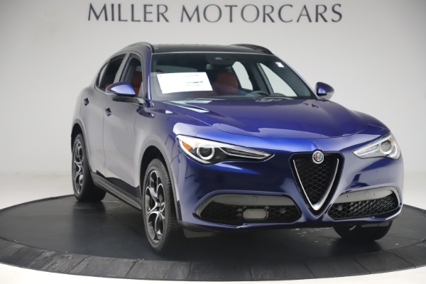 New 2019 Alfa Romeo Stelvio Ti Sport Q4 for sale $58,940 at Aston Martin of Greenwich in Greenwich CT 06830 11