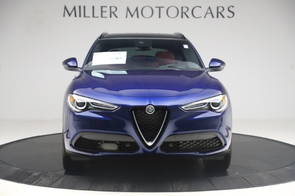 New 2019 Alfa Romeo Stelvio Ti Sport Q4 for sale $58,940 at Aston Martin of Greenwich in Greenwich CT 06830 12