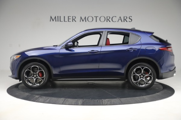 New 2019 Alfa Romeo Stelvio Ti Sport Q4 for sale $58,940 at Aston Martin of Greenwich in Greenwich CT 06830 3