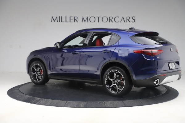 New 2019 Alfa Romeo Stelvio Ti Sport Q4 for sale $58,940 at Aston Martin of Greenwich in Greenwich CT 06830 4