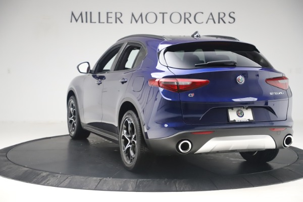 New 2019 Alfa Romeo Stelvio Ti Sport Q4 for sale $58,940 at Aston Martin of Greenwich in Greenwich CT 06830 5