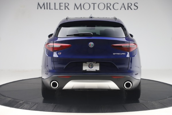 New 2019 Alfa Romeo Stelvio Ti Sport Q4 for sale $58,940 at Aston Martin of Greenwich in Greenwich CT 06830 6