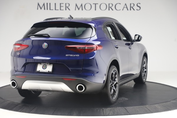 New 2019 Alfa Romeo Stelvio Ti Sport Q4 for sale $58,940 at Aston Martin of Greenwich in Greenwich CT 06830 7