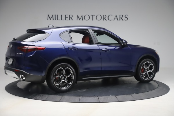 New 2019 Alfa Romeo Stelvio Ti Sport Q4 for sale $58,940 at Aston Martin of Greenwich in Greenwich CT 06830 8