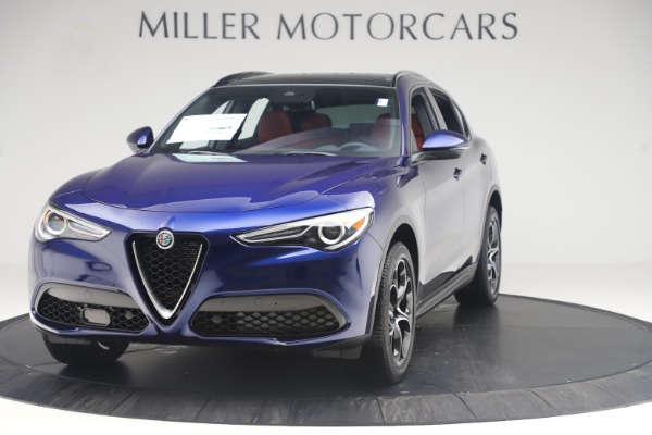 New 2019 Alfa Romeo Stelvio Ti Sport Q4 for sale $58,940 at Aston Martin of Greenwich in Greenwich CT 06830 1