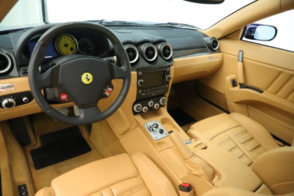 Used 2009 Ferrari 612 Scaglietti OTO for sale Sold at Aston Martin of Greenwich in Greenwich CT 06830 14