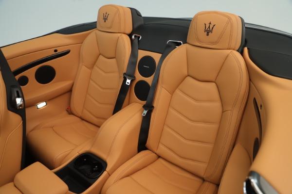 New 2019 Maserati GranTurismo Sport Convertible for sale Sold at Aston Martin of Greenwich in Greenwich CT 06830 23