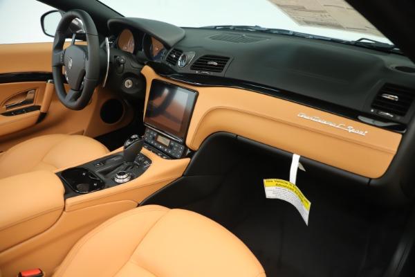 New 2019 Maserati GranTurismo Sport Convertible for sale Sold at Aston Martin of Greenwich in Greenwich CT 06830 26
