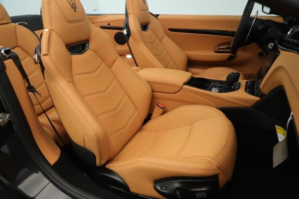 New 2019 Maserati GranTurismo Sport Convertible for sale Sold at Aston Martin of Greenwich in Greenwich CT 06830 28