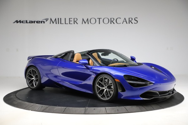 New 2020 McLaren 720S SPIDER Convertible for sale $374,830 at Aston Martin of Greenwich in Greenwich CT 06830 10