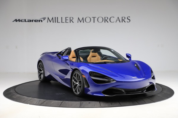 New 2020 McLaren 720S SPIDER Convertible for sale $374,830 at Aston Martin of Greenwich in Greenwich CT 06830 11