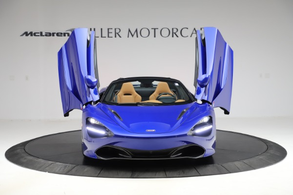 New 2020 McLaren 720S SPIDER Convertible for sale $374,830 at Aston Martin of Greenwich in Greenwich CT 06830 13