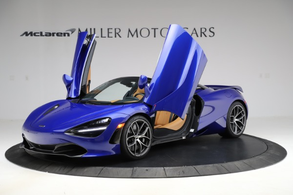New 2020 McLaren 720S SPIDER Convertible for sale $374,830 at Aston Martin of Greenwich in Greenwich CT 06830 14
