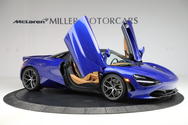 New 2020 McLaren 720S SPIDER Convertible for sale $374,830 at Aston Martin of Greenwich in Greenwich CT 06830 15