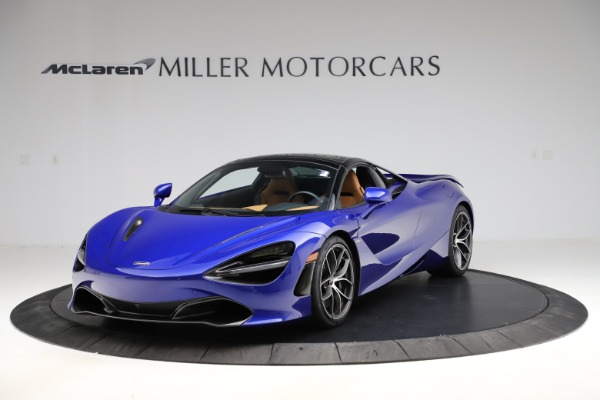 New 2020 McLaren 720S SPIDER Convertible for sale $374,830 at Aston Martin of Greenwich in Greenwich CT 06830 16