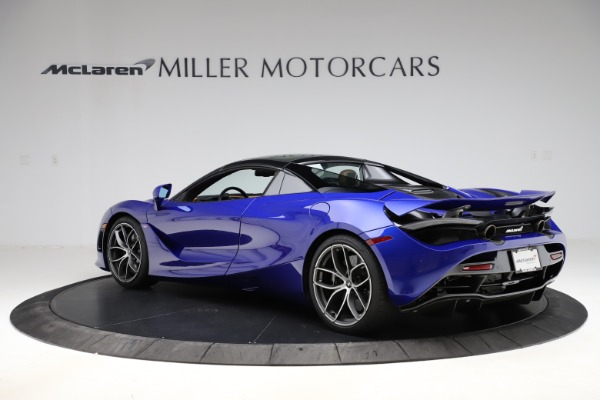 New 2020 McLaren 720S SPIDER Convertible for sale $374,830 at Aston Martin of Greenwich in Greenwich CT 06830 18
