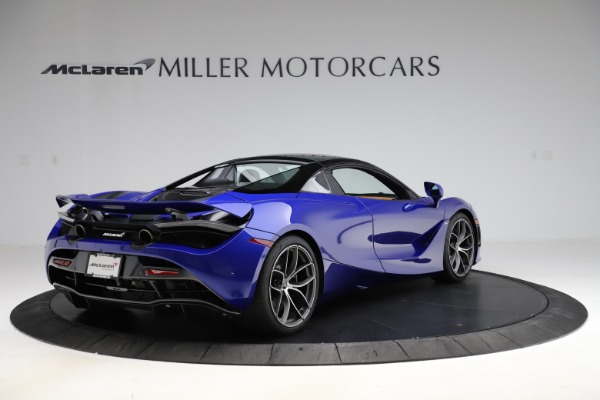 New 2020 McLaren 720S SPIDER Convertible for sale $374,830 at Aston Martin of Greenwich in Greenwich CT 06830 19