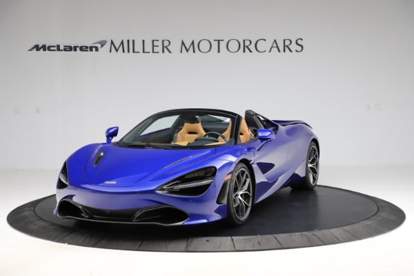 New 2020 McLaren 720S SPIDER Convertible for sale $374,830 at Aston Martin of Greenwich in Greenwich CT 06830 2