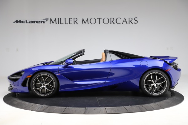 New 2020 McLaren 720S SPIDER Convertible for sale $374,830 at Aston Martin of Greenwich in Greenwich CT 06830 3