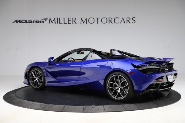 New 2020 McLaren 720S SPIDER Convertible for sale $374,830 at Aston Martin of Greenwich in Greenwich CT 06830 4