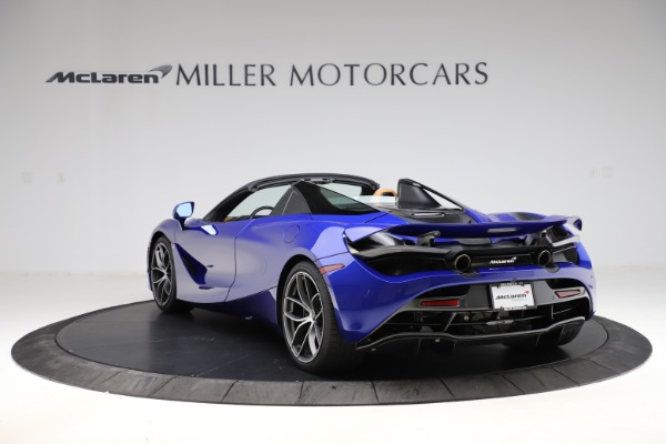 New 2020 McLaren 720S SPIDER Convertible for sale $374,830 at Aston Martin of Greenwich in Greenwich CT 06830 5