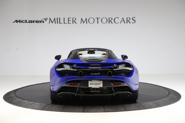 New 2020 McLaren 720S SPIDER Convertible for sale $374,830 at Aston Martin of Greenwich in Greenwich CT 06830 6