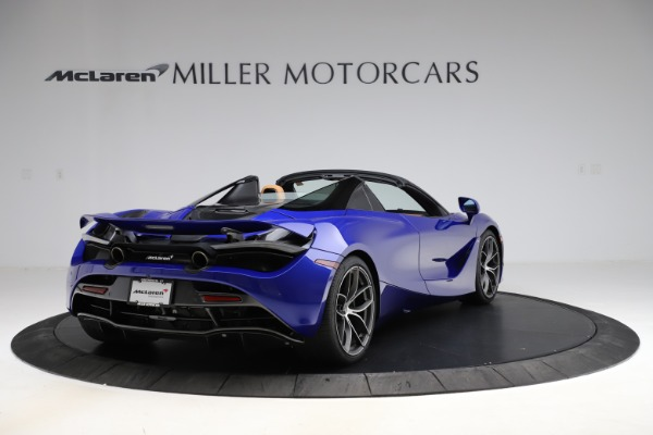 New 2020 McLaren 720S SPIDER Convertible for sale $374,830 at Aston Martin of Greenwich in Greenwich CT 06830 7