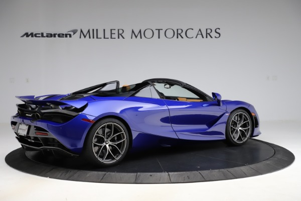 New 2020 McLaren 720S SPIDER Convertible for sale $374,830 at Aston Martin of Greenwich in Greenwich CT 06830 8
