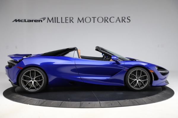 New 2020 McLaren 720S SPIDER Convertible for sale $374,830 at Aston Martin of Greenwich in Greenwich CT 06830 9