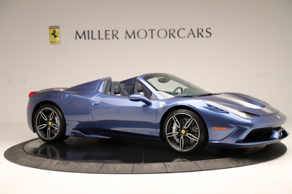 Used 2015 Ferrari 458 Speciale Aperta for sale Sold at Aston Martin of Greenwich in Greenwich CT 06830 11