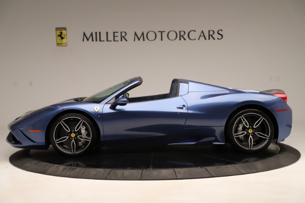 Used 2015 Ferrari 458 Speciale Aperta for sale Sold at Aston Martin of Greenwich in Greenwich CT 06830 4
