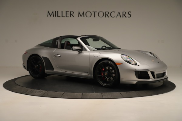 Used 2017 Porsche 911 Targa 4 GTS for sale Sold at Aston Martin of Greenwich in Greenwich CT 06830 10