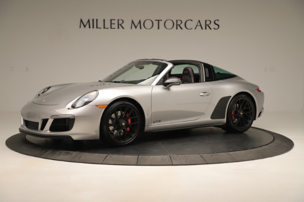 Used 2017 Porsche 911 Targa 4 GTS for sale Sold at Aston Martin of Greenwich in Greenwich CT 06830 2