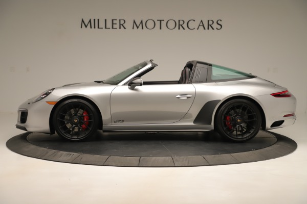 Used 2017 Porsche 911 Targa 4 GTS for sale Sold at Aston Martin of Greenwich in Greenwich CT 06830 3