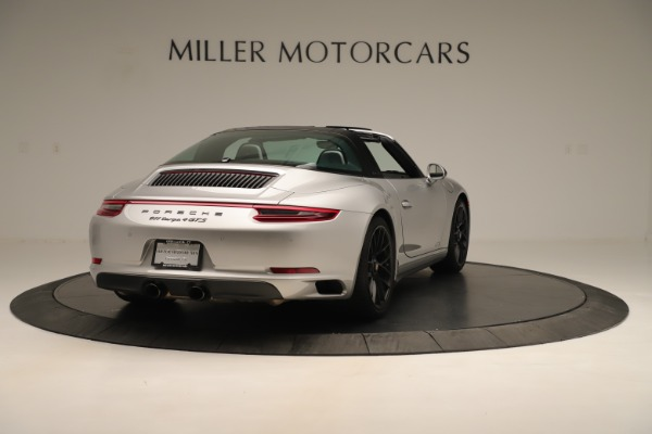 Used 2017 Porsche 911 Targa 4 GTS for sale Sold at Aston Martin of Greenwich in Greenwich CT 06830 7