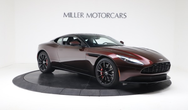 New 2019 Aston Martin DB11 V12 AMR Coupe for sale $263,916 at Aston Martin of Greenwich in Greenwich CT 06830 10